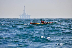 Al Mennie paddle boarding