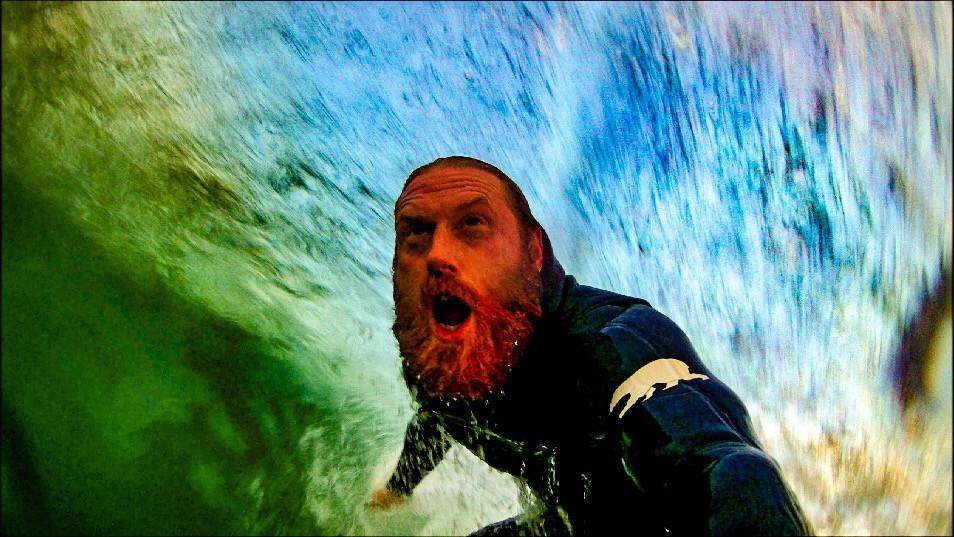 Al Mennie, surfer, irish surfer, portballintrae, surfing ireland, surfing northern ireland, tube, irish man