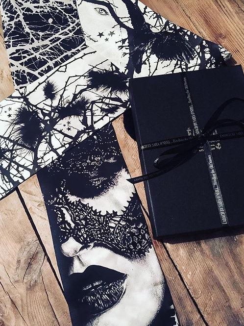 Eadach Morigan Skinny Silk Scarf by Sara O'Neill
