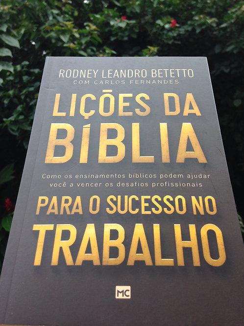 """Livro """"Lições da Bíblia para o sucesso no trabalho"""""""