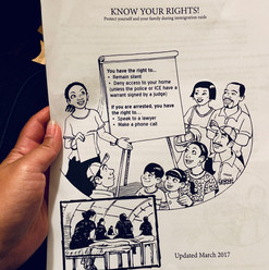 Know Your Rights information