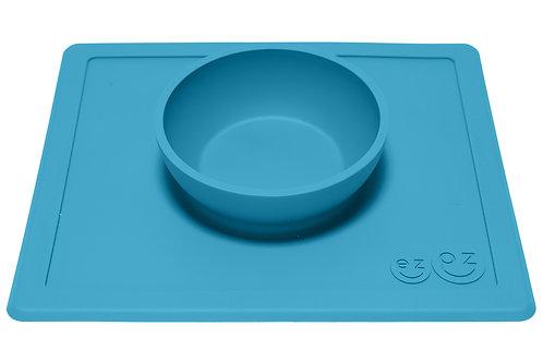 EZPZ Happy Bowl - Blue