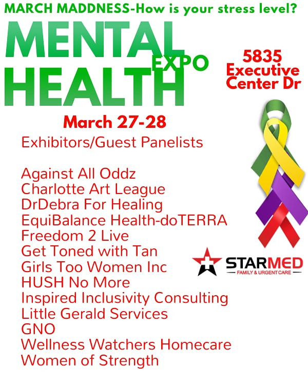 Mental Health Expo, Charlotte, NC