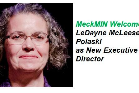 MeckMIN Welcomes LeDayne McLeese Polaski as New Executive Director