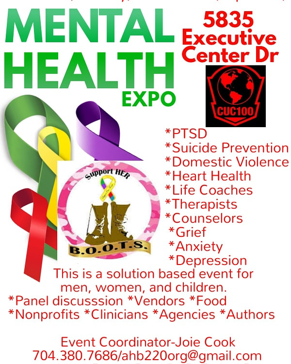 Mental Health Expo Charlotte, NC