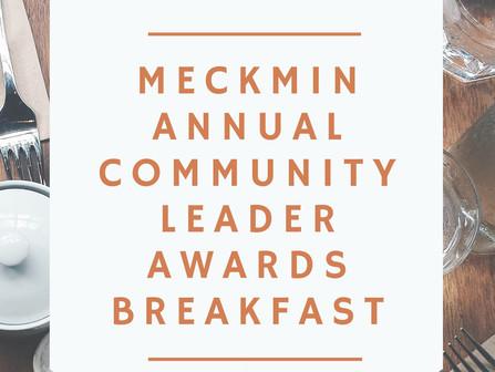 MeckMIN Community Leader Awards Breakfast Program May 27, 2020