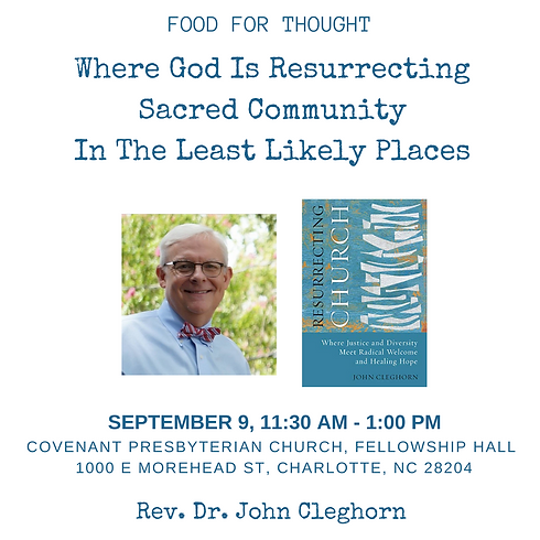 Food For Thought: Where God is Resurrecting Sacred Community In The Least Likely Places