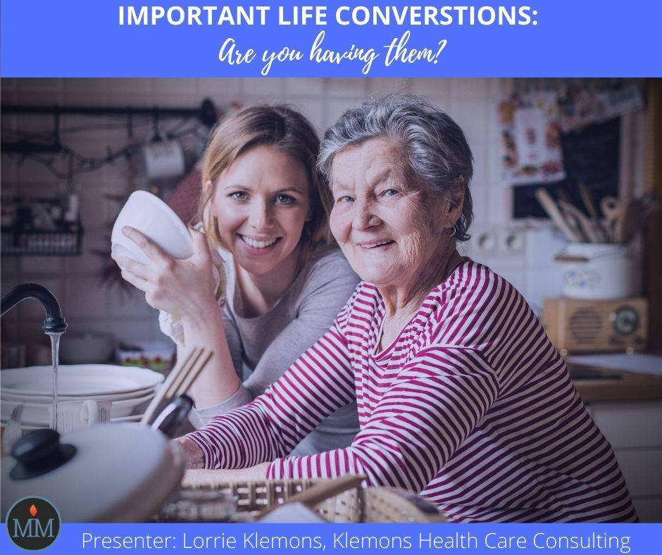 MeckMIN Food for Thought, Senior Caregivers, Patient Advocacy