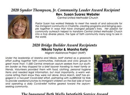 2020 Community Leader Award Winners