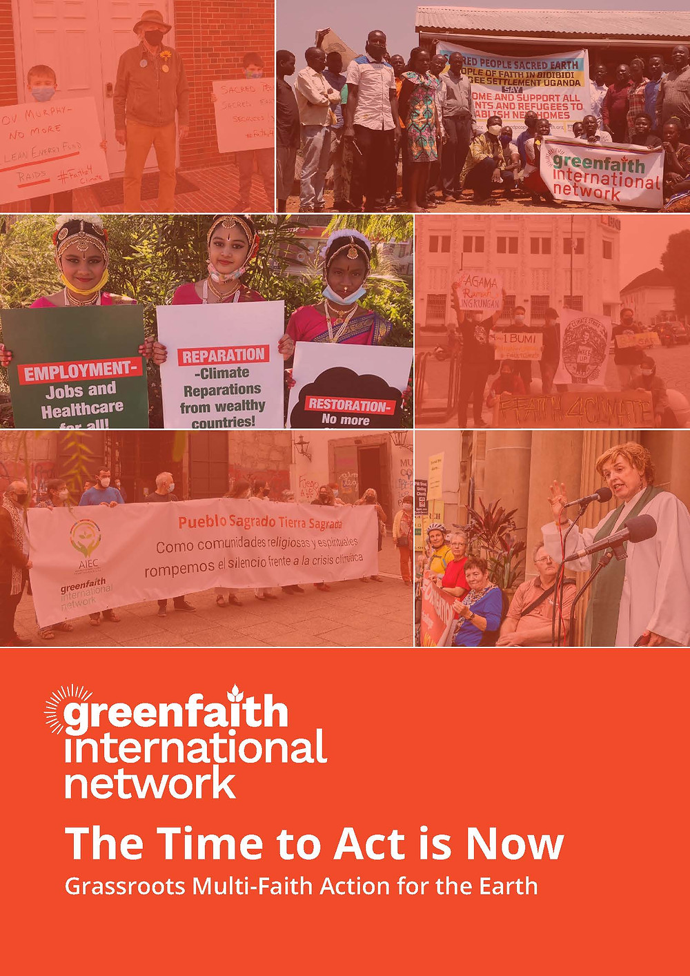 Greenfaith International Network, The Time to Act is Now, Multi-faith Action for Earth