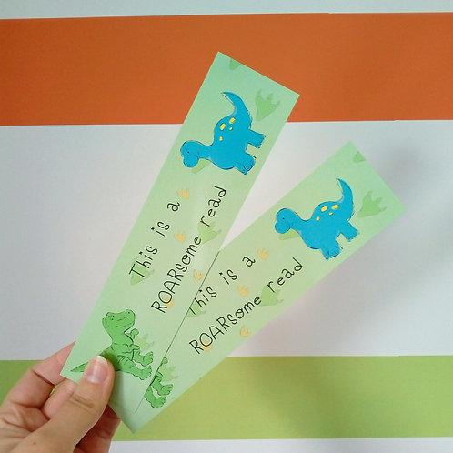 Dinosaur ROARsome Bookmark