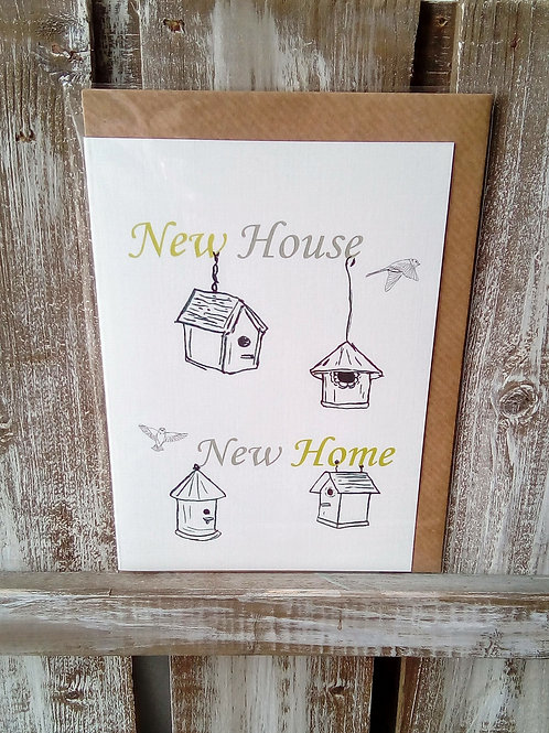 New House New Home Card
