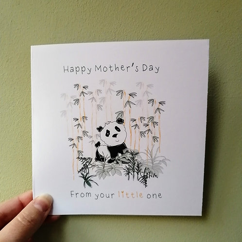 Happy Mother's Day from your little one Card