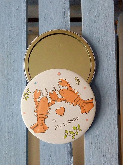 My Lobster pocket mirror