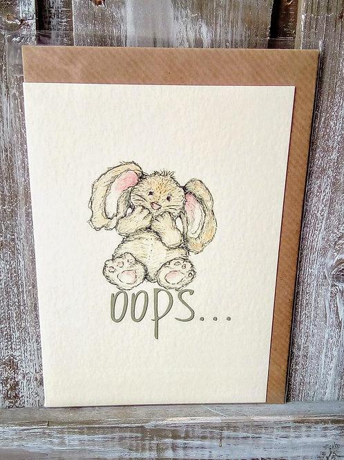 Oops Card