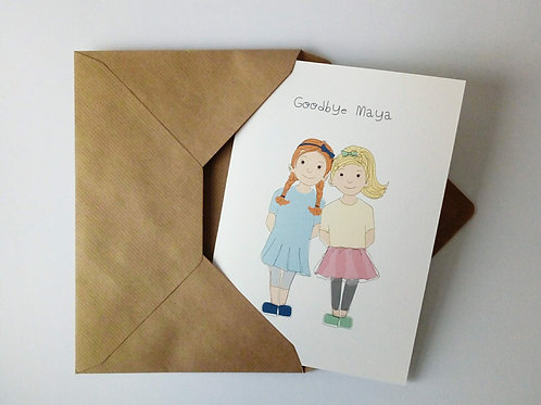 Best Friends Card & Print