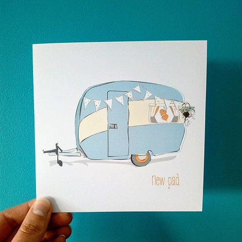 New Home Caravan Card