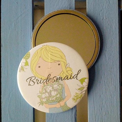 Bridesmaid pocket mirror