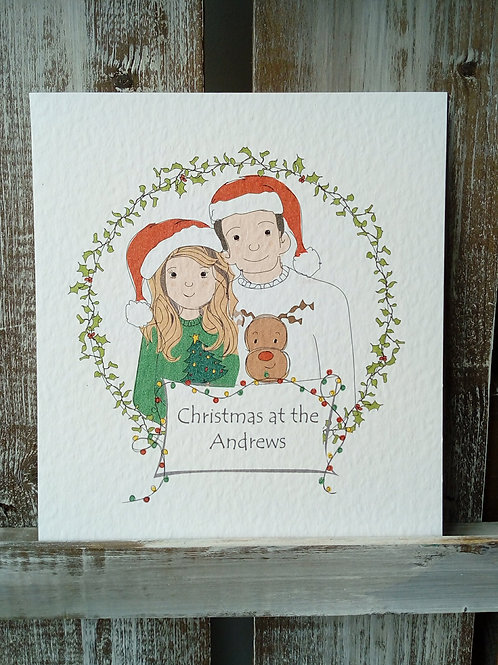 Christmas Family Print & Cards