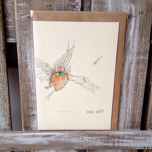 Pheasant Card