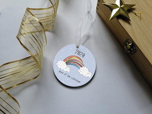 Lockdown 2020 Christmas Decoration