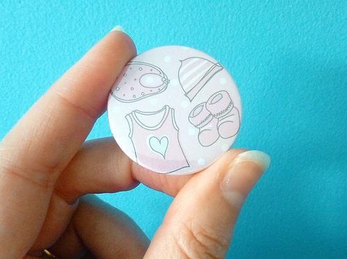Baby Shower Favour Badges