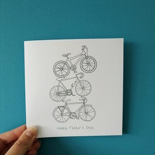 Cycles Father Day Card