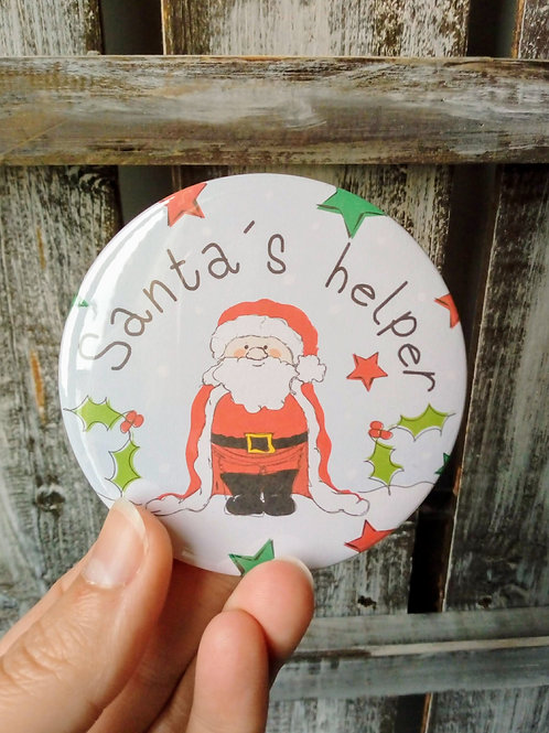 Santa's helper Badge