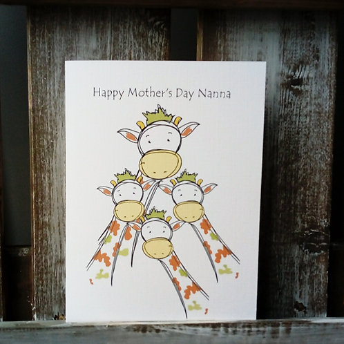Nanna Mother's Day Card