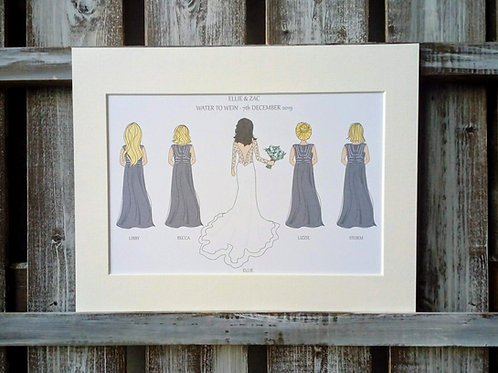 Bridal Party Print