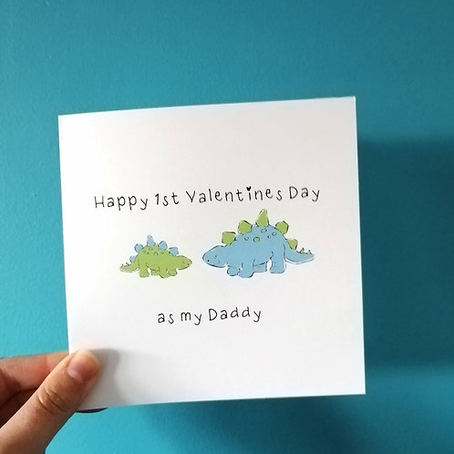 1st Valentines as my Daddy Card