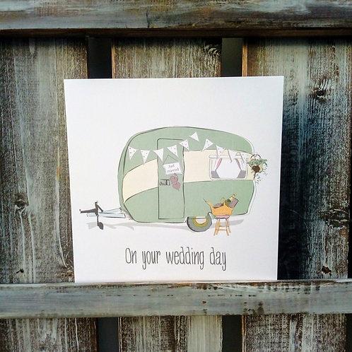 Wedding Caravan Card