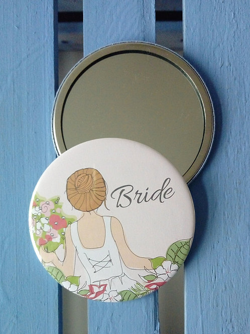 Bride Pocket Mirror