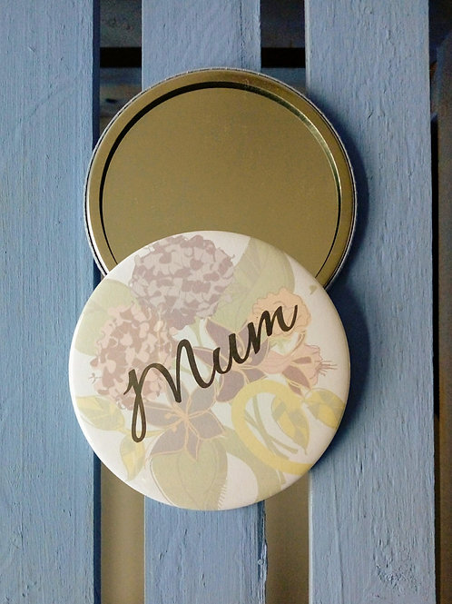 Mum pocket mirror