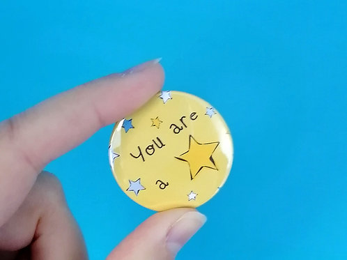 You are a star badge