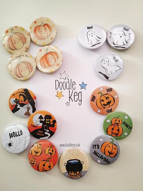 Halloween Badges