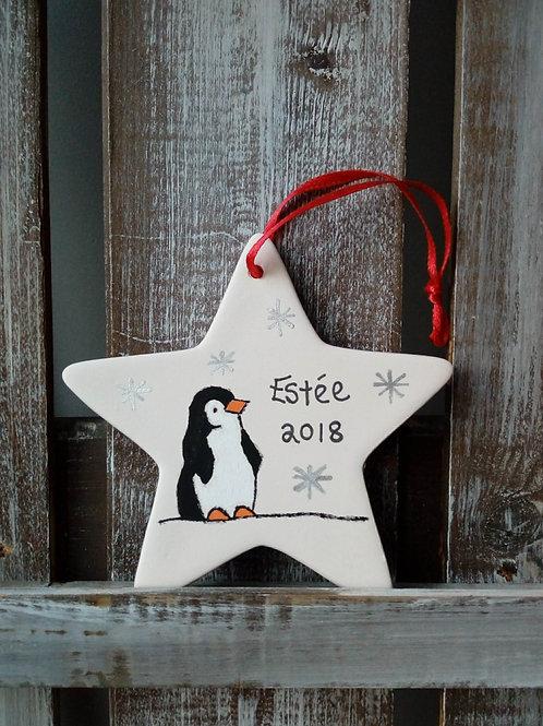Penguin Ceramic Star