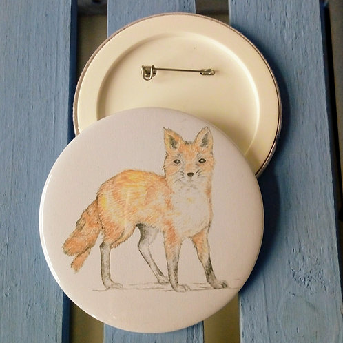 Fox Badge