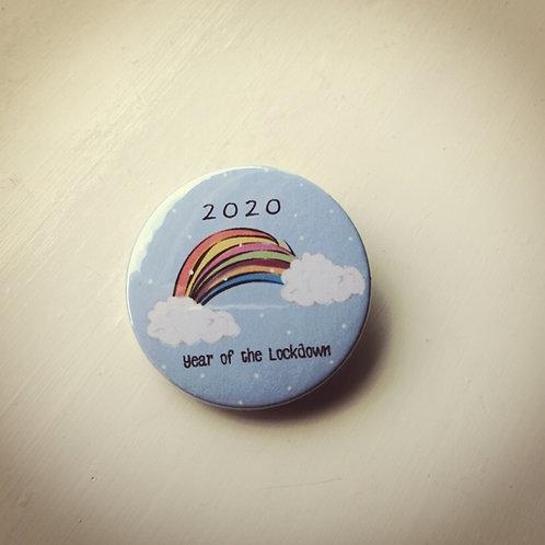 Rainbow Christmas 2020 Badge