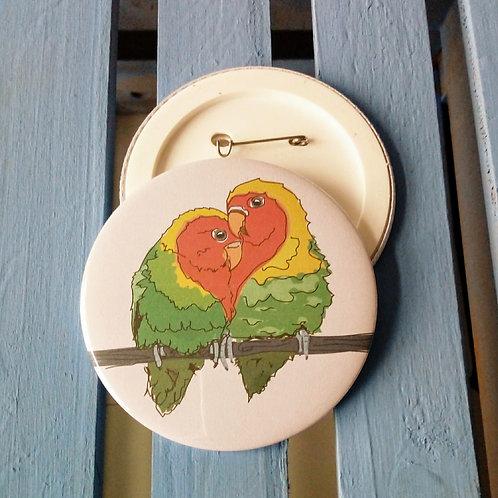 Love Birds Badge