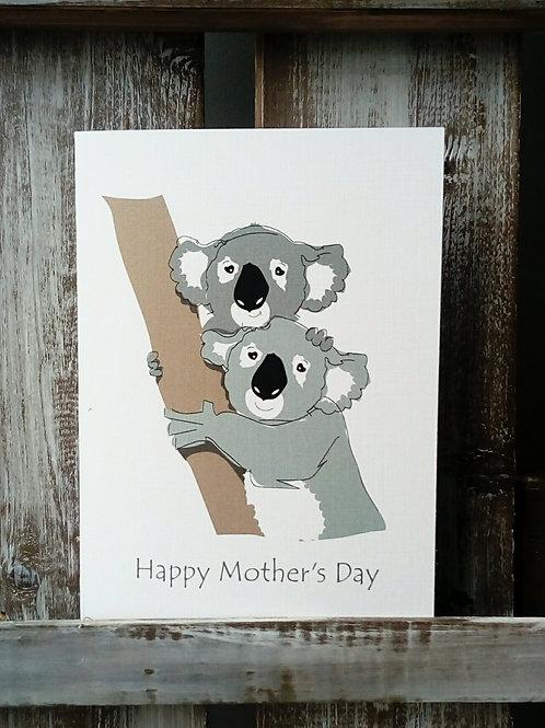 Koala Mother's Day Card