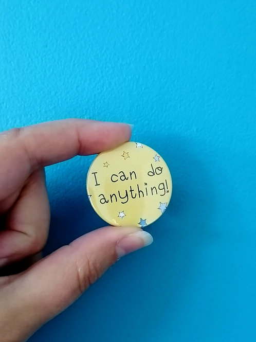 'I can do anything' badge