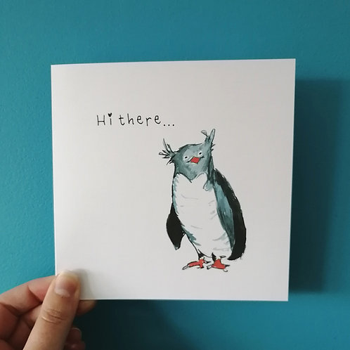 Hi there! Penguin Card