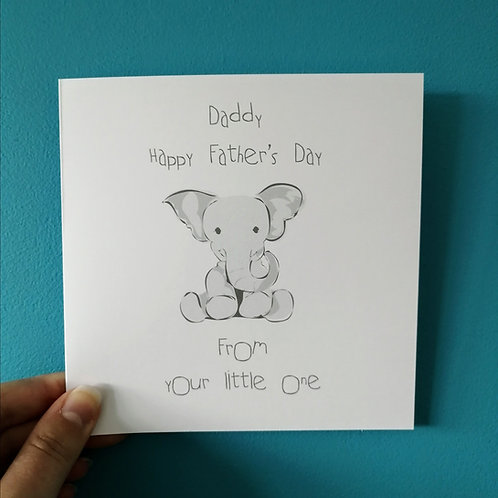 From your little one Card