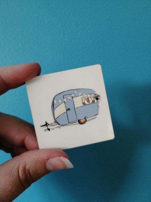 Caravan Magnet