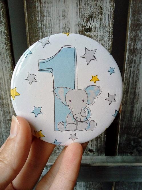 Elephant Age Badge