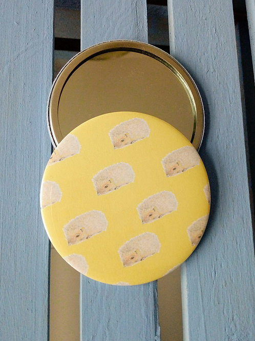 Hedgehog Pocket Mirror