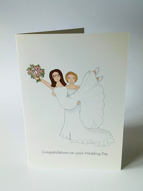 Mrs & Mrs Card and Print