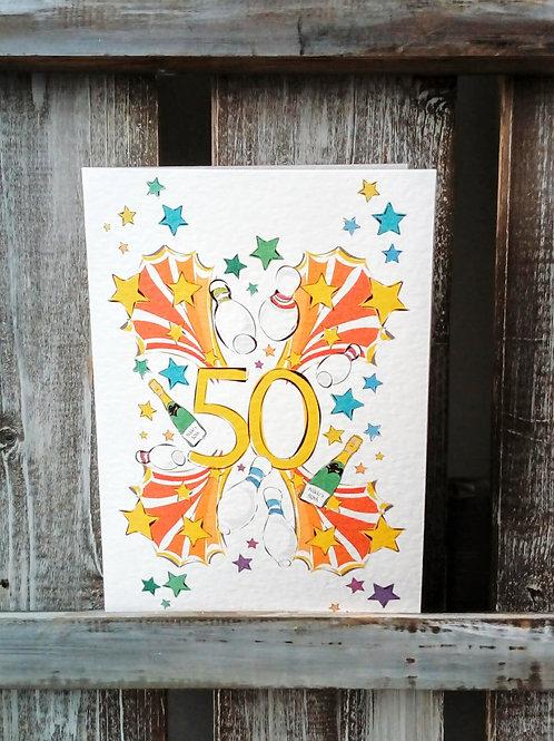 Age Birthday Card