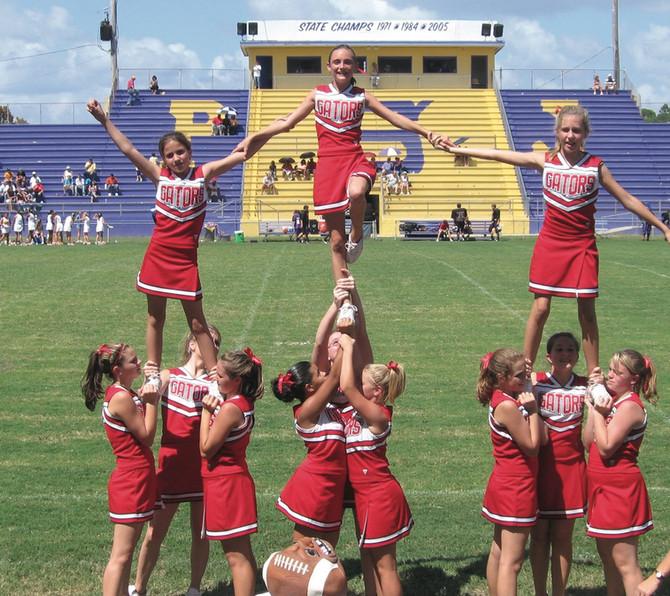 Alexa as a Gator's cheerleader